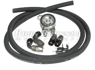 VR6 24V and R32 Oil Cooler Kit - Rubber Push-Lock